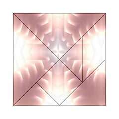 Neonite Abstract Pattern Neon Glow Background Acrylic Tangram Puzzle (6  x 6 )