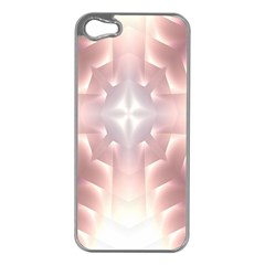Neonite Abstract Pattern Neon Glow Background Apple Iphone 5 Case (silver)