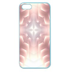 Neonite Abstract Pattern Neon Glow Background Apple Seamless Iphone 5 Case (color)