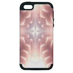 Neonite Abstract Pattern Neon Glow Background Apple Iphone 5 Hardshell Case (pc+silicone)
