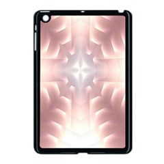 Neonite Abstract Pattern Neon Glow Background Apple Ipad Mini Case (black)