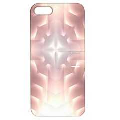 Neonite Abstract Pattern Neon Glow Background Apple Iphone 5 Hardshell Case With Stand