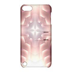 Neonite Abstract Pattern Neon Glow Background Apple iPod Touch 5 Hardshell Case with Stand