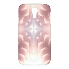 Neonite Abstract Pattern Neon Glow Background Samsung Galaxy S4 I9500/I9505 Hardshell Case
