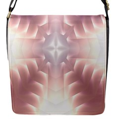 Neonite Abstract Pattern Neon Glow Background Flap Messenger Bag (S)