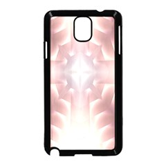 Neonite Abstract Pattern Neon Glow Background Samsung Galaxy Note 3 Neo Hardshell Case (Black)