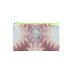 Neonite Abstract Pattern Neon Glow Background Cosmetic Bag (xs)