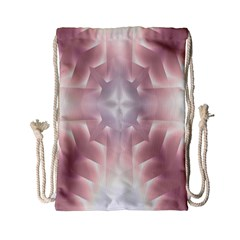 Neonite Abstract Pattern Neon Glow Background Drawstring Bag (Small)
