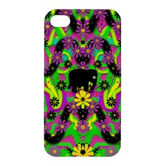 Jungle life and apples Apple iPhone 4/4S Hardshell Case