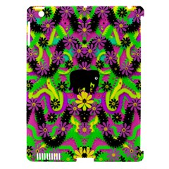 Jungle life and apples Apple iPad 3/4 Hardshell Case (Compatible with Smart Cover)