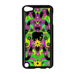 Jungle Life And Apples Apple Ipod Touch 5 Case (black)