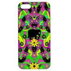 Jungle life and apples Apple iPhone 5 Hardshell Case with Stand