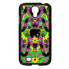 Jungle life and apples Samsung Galaxy S4 I9500/ I9505 Case (Black)