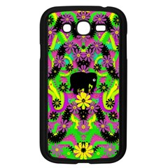 Jungle Life And Apples Samsung Galaxy Grand Duos I9082 Case (black)