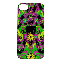 Jungle life and apples Apple iPhone 5S/ SE Hardshell Case