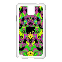 Jungle life and apples Samsung Galaxy Note 3 N9005 Case (White)