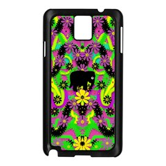 Jungle Life And Apples Samsung Galaxy Note 3 N9005 Case (black)
