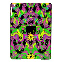 Jungle life and apples iPad Air Hardshell Cases