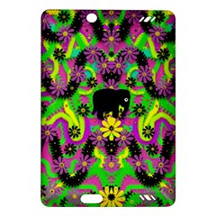 Jungle life and apples Amazon Kindle Fire HD (2013) Hardshell Case