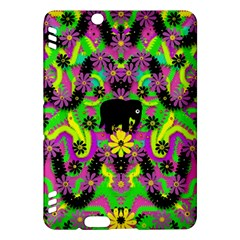 Jungle life and apples Kindle Fire HDX Hardshell Case