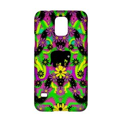 Jungle Life And Apples Samsung Galaxy S5 Hardshell Case