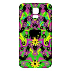 Jungle life and apples Samsung Galaxy S5 Back Case (White)