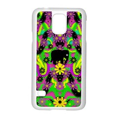 Jungle life and apples Samsung Galaxy S5 Case (White)