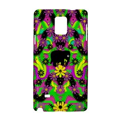 Jungle life and apples Samsung Galaxy Note 4 Hardshell Case