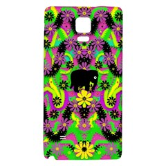 Jungle life and apples Galaxy Note 4 Back Case