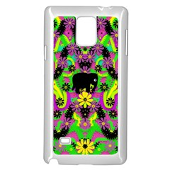 Jungle life and apples Samsung Galaxy Note 4 Case (White)