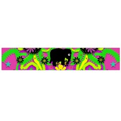 Jungle life and apples Flano Scarf (Large)