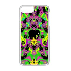 Jungle life and apples Apple iPhone 7 Plus White Seamless Case