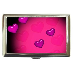 Pink Hearth Background Wallpaper Texture Cigarette Money Cases