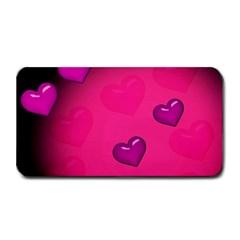 Pink Hearth Background Wallpaper Texture Medium Bar Mats