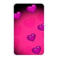 Pink Hearth Background Wallpaper Texture Memory Card Reader