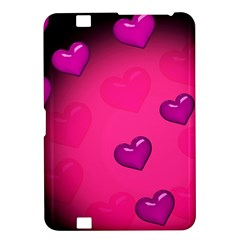 Pink Hearth Background Wallpaper Texture Kindle Fire HD 8.9