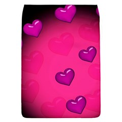 Pink Hearth Background Wallpaper Texture Flap Covers (S)