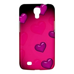 Pink Hearth Background Wallpaper Texture Samsung Galaxy Mega 6.3  I9200 Hardshell Case