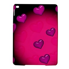 Pink Hearth Background Wallpaper Texture Ipad Air 2 Hardshell Cases