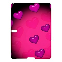 Pink Hearth Background Wallpaper Texture Samsung Galaxy Tab S (10 5 ) Hardshell Case