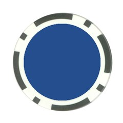 Delphinium Blue in an English Country Garden Poker Chip Card Guard (10 pack)