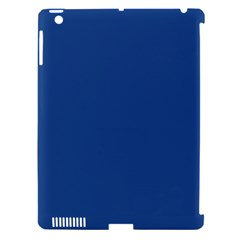 Delphinium Blue in an English Country Garden Apple iPad 3/4 Hardshell Case (Compatible with Smart Cover)