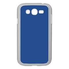 Delphinium Blue in an English Country Garden Samsung Galaxy Grand DUOS I9082 Case (White)