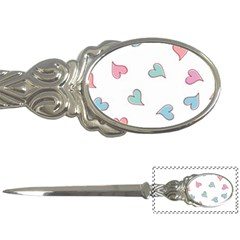 Colorful Random Hearts Letter Openers