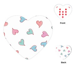 Colorful Random Hearts Playing Cards (heart)
