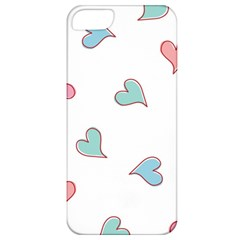 Colorful Random Hearts Apple Iphone 5 Classic Hardshell Case