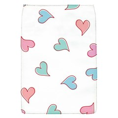 Colorful Random Hearts Flap Covers (S)