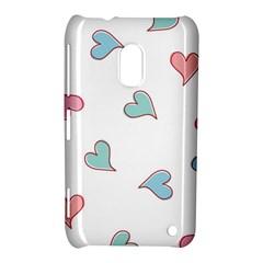 Colorful Random Hearts Nokia Lumia 620