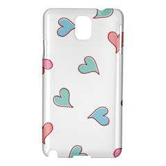Colorful Random Hearts Samsung Galaxy Note 3 N9005 Hardshell Case