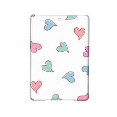 Colorful Random Hearts iPad Mini 2 Hardshell Cases